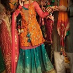 New Bridal Mehndi Dresses Designs for Women