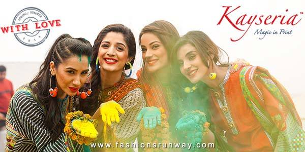 Kayseria Spring Summer Lawn Collection 2014