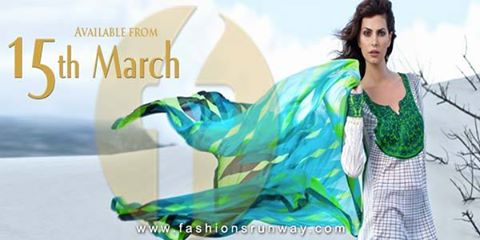 Firdous Fashion Summer Lawn 2014 Collection Images
