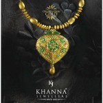 Gold Necklace Designs by Khanna Jewellers