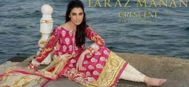 Faraz Manan Crescent Eid Collection 2014