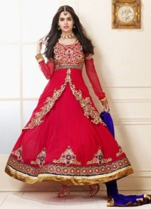 Anarkali Frocks Designs for Parties