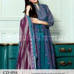 Gul Ahmed Winter Linen Collection 2014-15