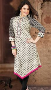 Designer New Embroidered Kurti Designs