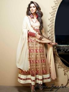 Meena Bazaar Latest Anarkali Frocks Designs