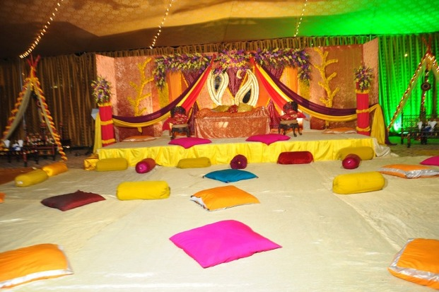 Wedding Mehndi Stage Decoration Designs Fashions Runway