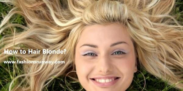 Home Remedies For Dye Your Hair Blonde Without Bleach