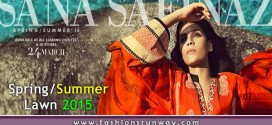 Sana Safinaz New Summer Lawn Collection 2015