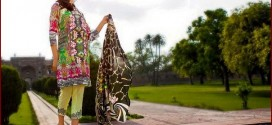 Designer Asifa and Nabeel Lawn Collection 2015