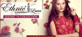 Outfitters Festive Embroidered Eid Collection 2015