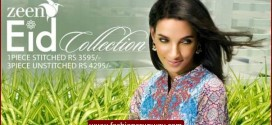 Zeen Embroidery Lawn Eid Collection 2015 for Women