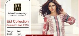 MauSummery Eid 2015 Women Party Wear Kurtis