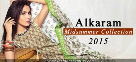 Alkaram Midsummer Dresses 2015 Suits