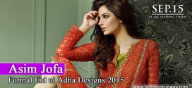 Asim Jofa Latest Eid Dresses 2015 with Price