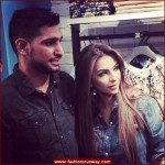 Amir Khan and his wife Faryal Makhdoom Launched Pepe Jeans Collection