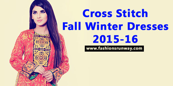 Cross Stitch Fall Winter Dresses 2015-16