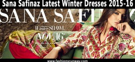 Sana Safinaz Latest Winter Dresses 2015-16