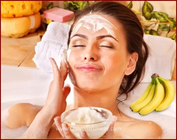 DIY Banana Cleansing Facial Mask
