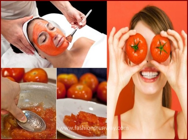 Tomato Facial Mask Recipe