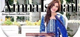 Amna Ismail SS Lawn Dresses 2016 Online Catalog