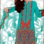 Gul Ahmed New Lawn Designs 2016 Spring Summer