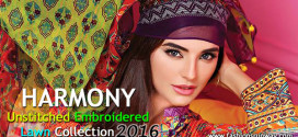 Harmony Pakistan SS Lawn Dresses 2016 Catalogue