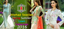 Ittehad Textile Spring Summer Collection 2016