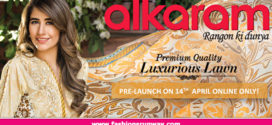 Alkaram Textile Lawn Collection 2016 Volume 2 Catalog