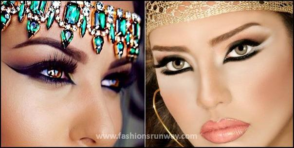 New Arabic Makeup Looks 2016