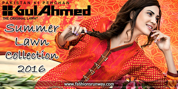 f5dc4d64f9 Gul Ahmed Lawn 2016 Vol 2 with Price | Summer Collection '16