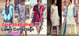 Zara Shahjahan Lawn 2016 Collection with Price