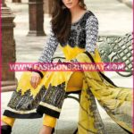 Arabic Lawn Suits for Girls