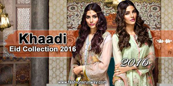 Khaadi Latest Eid Collection 2016 with Price