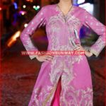 FUCHSIA EMBROIDERED SINGLE SHIRT SL-282
