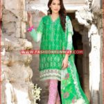 GREEN CHANTILLY DE LACE CT-171