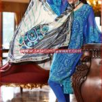 BLUE TRENCIA SATIN SILK SS-74