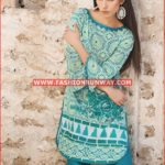 GREEN PRINTED SINGLE SHIRT SL-299