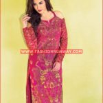 MAGENTA EMBROIDERED SINGLE SHIRT SL-273