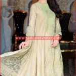 BEIGE PREMIUM EMBROIDERED CHIFFON PM-102