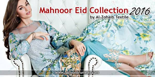 Mahnoor Eid Collection 2016 by Al-Zohaib Textiles