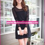 Black Casual Dress for Girls
