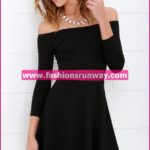 Black Western Wear Casual Dress