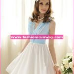 White Casual Dress for Girls