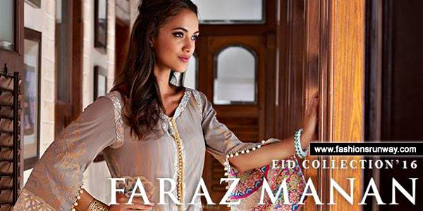 Faraz Manan Eid Collection 2016 for Women
