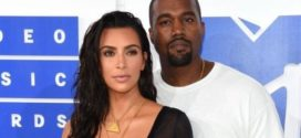 Kim Kardashian and Kanye West VMA's 2016