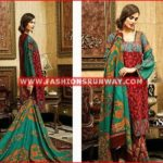 house of ittehad fall winter dresses 2016 design 5809