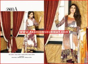house of ittehad fall winter dresses 2016 design 5815