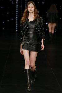 Saint Laurent Spring Collection 2016 - Model Lera Kvasovka