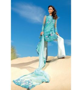 Design 07 Sobia Nazir Luxury Chiffon 2016 Unstitched Suit
