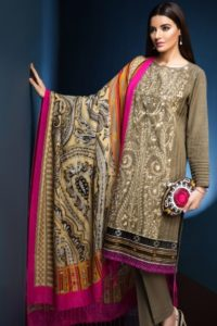 Khaadi Winter Collection 2016 Design # P16843